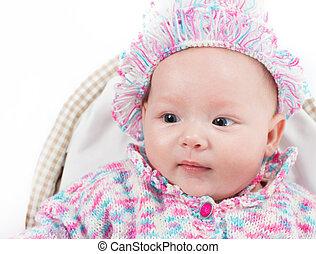 a, reizend, wenig, child., der, baby, could, sein, a, junge, oder, m�dchen, und, hat, blaues, eyes., gebrauch, ihm, für, a, parenting, oder, liebe, concept.