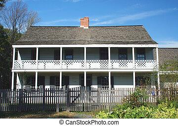 Revolutionary war Historic house - A Revolutionary war...