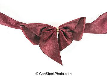 A ribbon bow