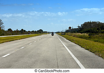 A road in Florida