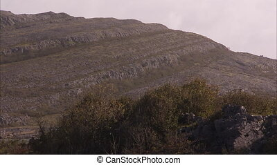 A rocky hill in Ireland