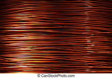 copper wire - A roll of copper wire