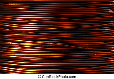roll of copper wire