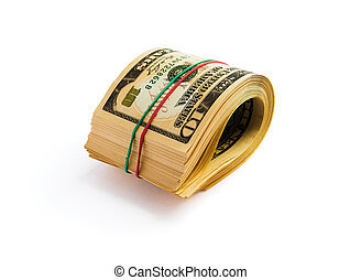 A roll of dollars