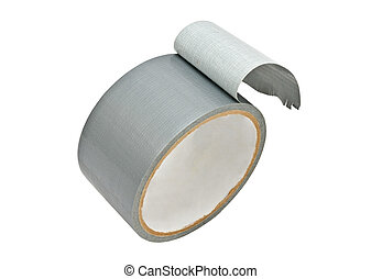 roll of Grey Duct Tape