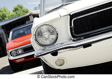 american classic musscle car
