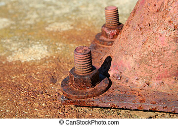 Rusty Metal Bolt