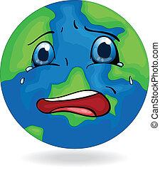 A sad Earth