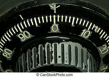 Safe tumbler dial macro