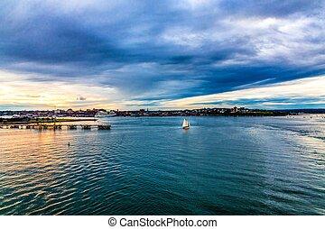 Sailboat in Portland