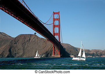 Sailing Golden Gate