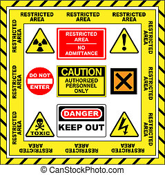 Warning Signs - A Salection of Warning Signs