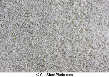 a sample of gypsum sand from White Sands National Monument,...