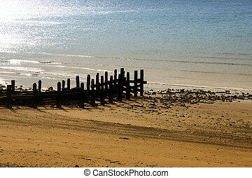 A sandy beach  in Mary Port