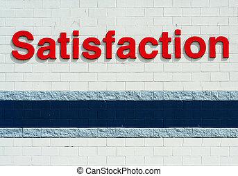 Satistaction sign