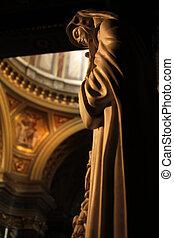 Saint Teresa - A Sculpture of Saint Teresa (Szent Terez) at...