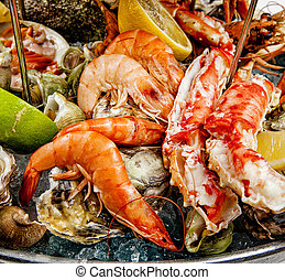 seafood, international cuisine, seafood dishes luxury class
