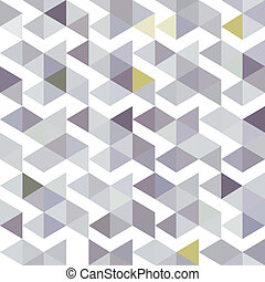 pattern of gray triangles with a li