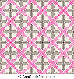 A seamless pattern with leaves