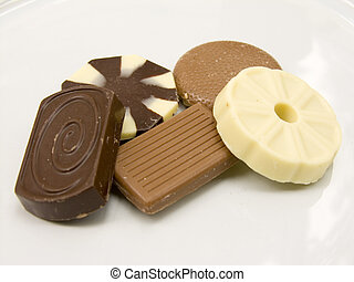 A selection of biscuits