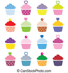cupcakes  - A selection of delicious cupcakes
