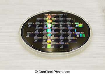 a Semiconductor wafer disk