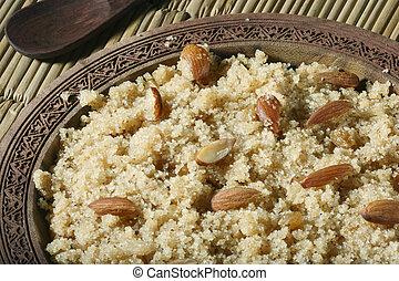 A Semolina Pudding from India - Halwaua e Aurd Sujee is a ...