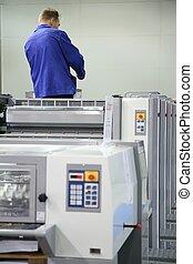a, serviço, pessoal, de, impresso, equipamento, 2