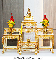 A set of altar table.