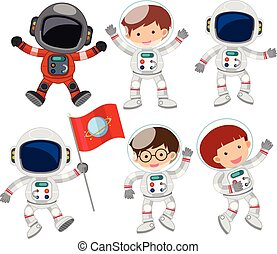 A Set of Astronaut