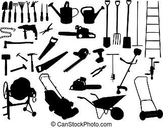 A set of basic tools.