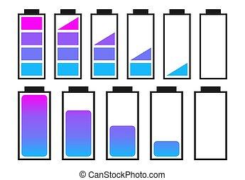 A set of batteries