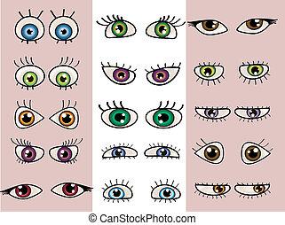 A set of beautiful eyes