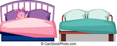 A set of bed