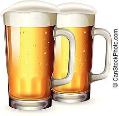 A Set of Beer Mug