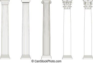 a set of columns