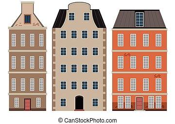 A Set of Dutch Building