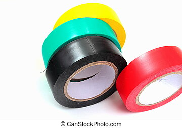 a set of electrical tape