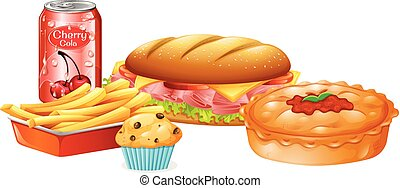 A Set of Fast Food