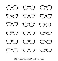 A set of frames, simple design