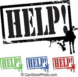 help stamp