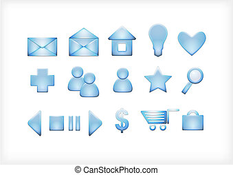 a set of icons for the sit