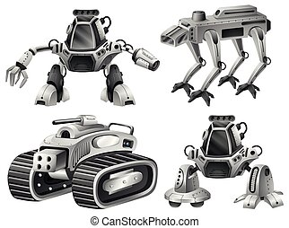 A set of isolated robot