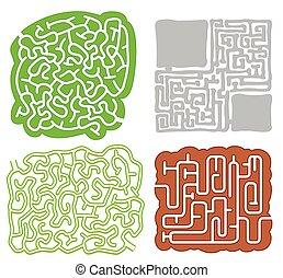 A Set of Maze Game Pattern