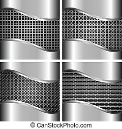 A set of metal backgrounds 2