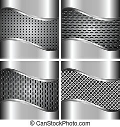A set of metal backgrounds 4