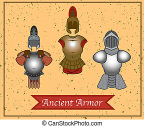 A set of old armor