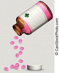 A Set of Pink Pills