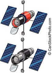 A set of satellite