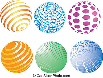 a set of spheres